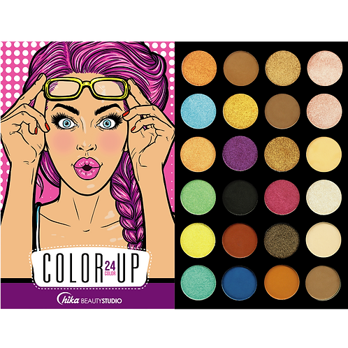 COLOR UP EYESHADOW PALETTE (D)