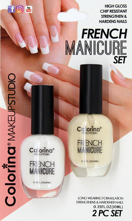 COLORINA BLISTER FRENCH MANICURE KIT #03