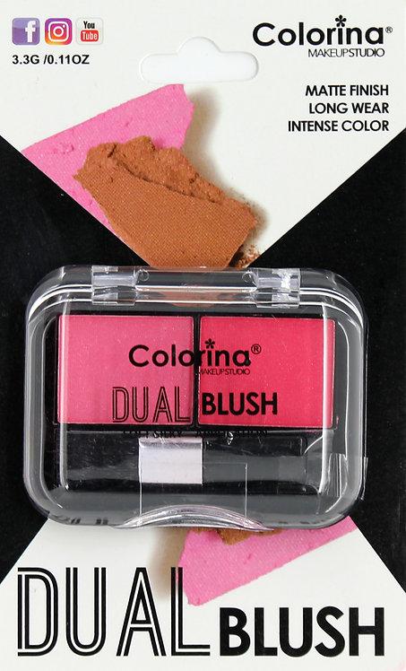 COLORINA BLISTER MATTE DUAL BLUSH #04