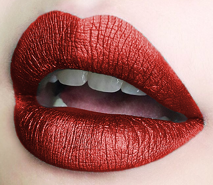 COLORINA METAL MATTE RED #04