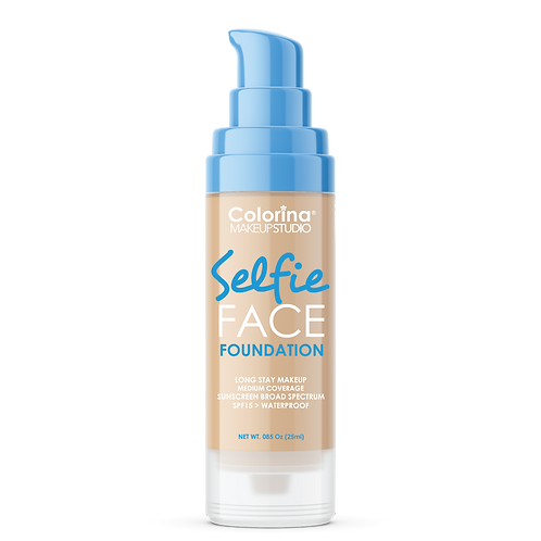COLORINA SELFIE FACE FOUNDATION #07 MEDIUM BEIGE