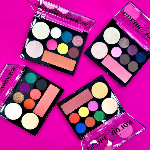 BUNDLE OF 4 COLOR X PRESS PALETTES