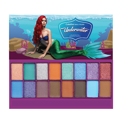 COLORINA UNDERWATER SHADOW PALETTE D