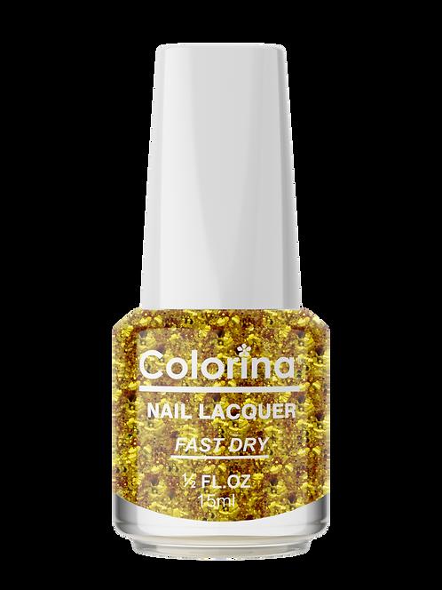 COLORINA NAIL LACQUER #109 BIG GOLD