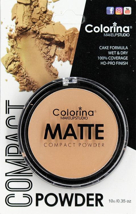 COLORINA BLISTER MATTE COMPACT POWDER #06
