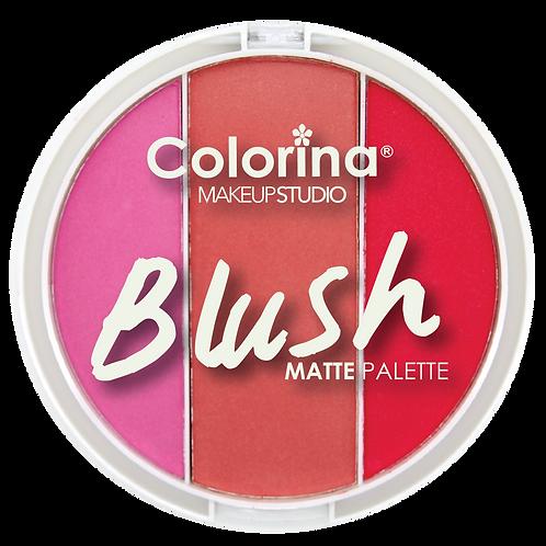 COLORINA ROUND BLUSH PALETTE #02