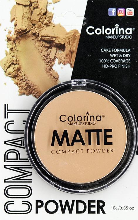 COLORINA BLISTER MATTE COMPACT POWDER #05