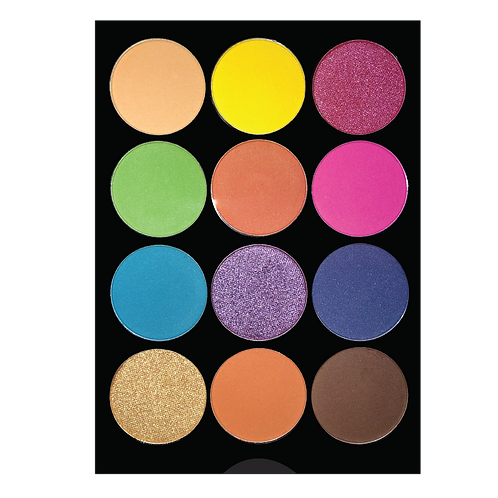 COLORINA 12 COLOR COLORFULL EYESHADOW PALETTE