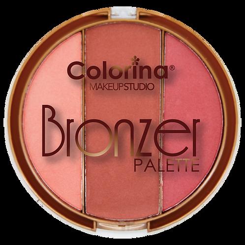 COLORINA ROUND BRONZER PALETTE #02