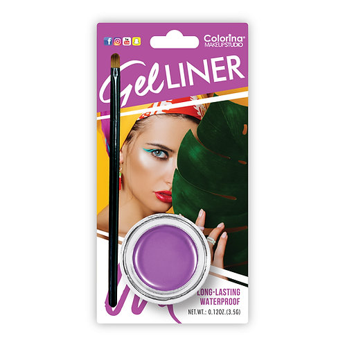 PURPLE EYELINER GEL