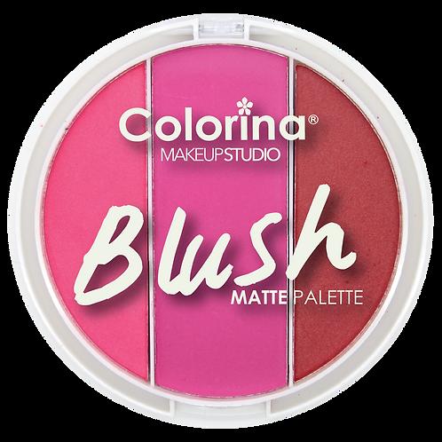 COLORINA ROUND BLUSH PALETTE #04