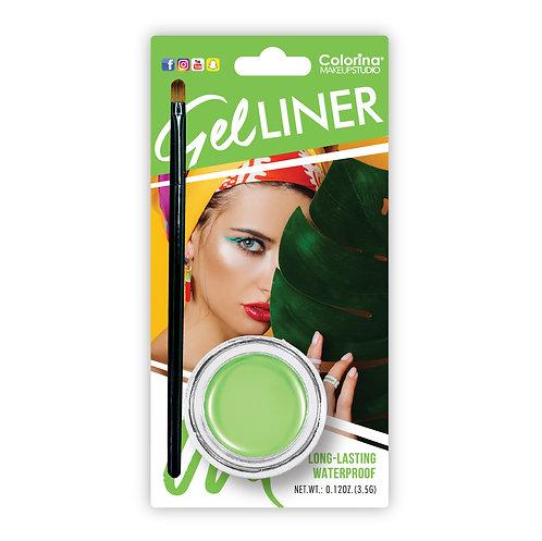 GREEN EYELINER GEL