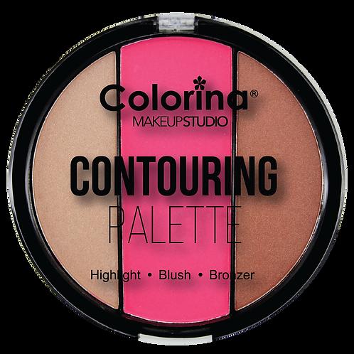COLORINA ROUND CONTOURING PALETTE #03