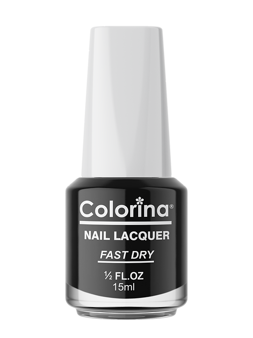 COLORINA NAIL LACQUER #03 BLACK