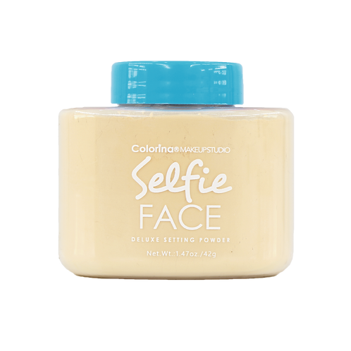 SELFIE FACE BANANA LOOSE POWDER