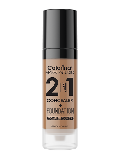 COLORINA 2in1 CONCEALER and FOUNDATION CREAM BEIGE #06