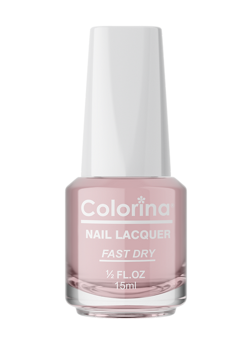 COLORINA NAIL LACQUER #93 ROSE TOP COAT