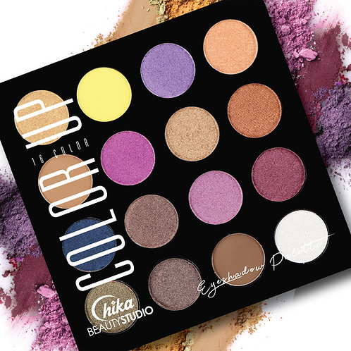CHIKA COLOR UP EYESHADOW PALETTE D