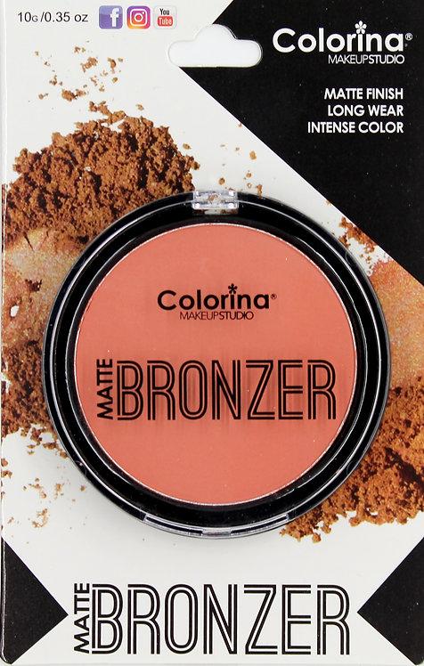 COLORINA BLISTER MATTE BRONZER #02