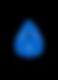 Logo Flow Escrito 1.0- Blue (Moonbeam) .