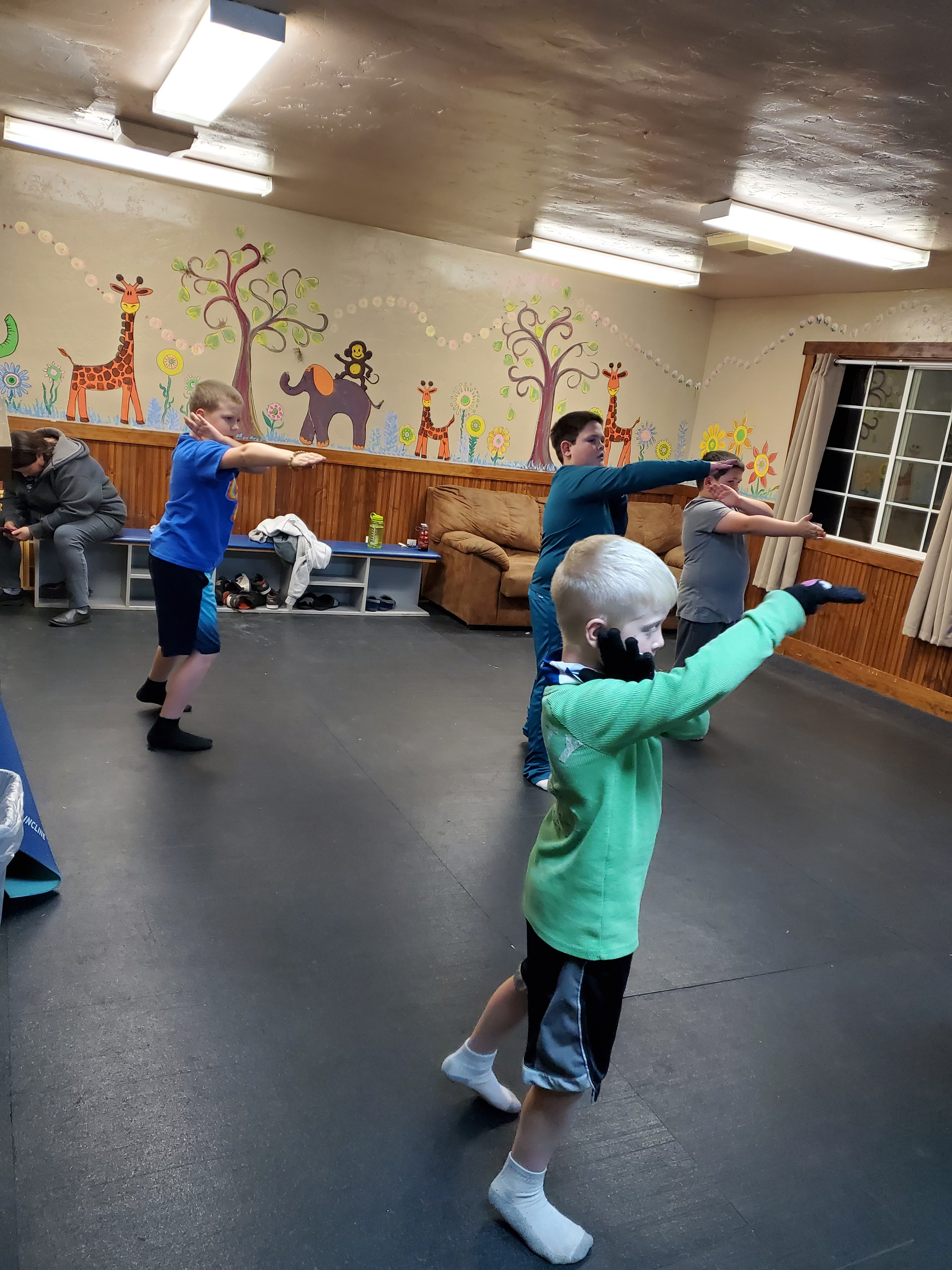 Ages 8 to 12 (Mon. Wed. 6:30-7:30 P.M.)