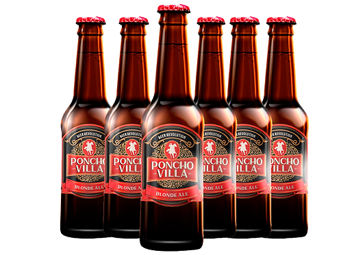 6 pack Poncho Villa Blond Ale