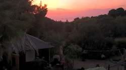 Sunset over Vrouva