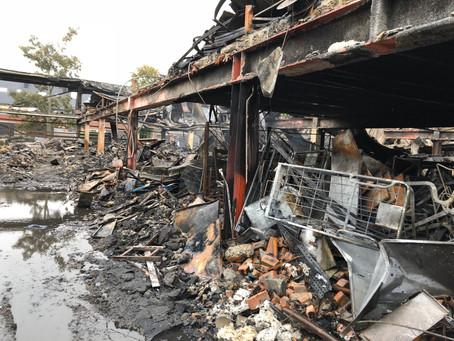 De brand bij Montapacking – vijf dagen later