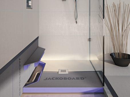 JACKOBOARD® Aqua Reno: direct betegelbaar, ideaal voor renovaties
