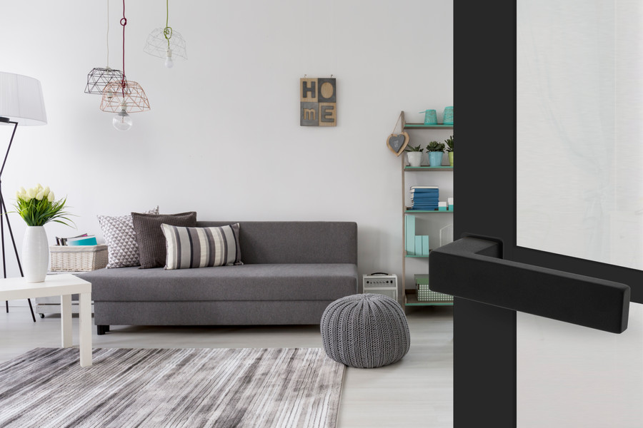 Intersteel Deurkruk Amsterdam op minimalistische rozet