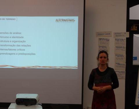 Apresentação do projeto Alternativas