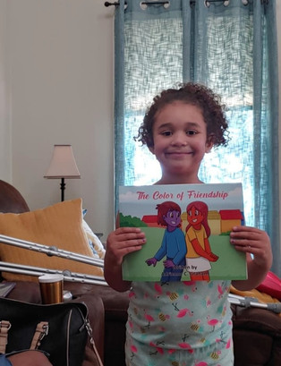 Reading, makes kids happy!