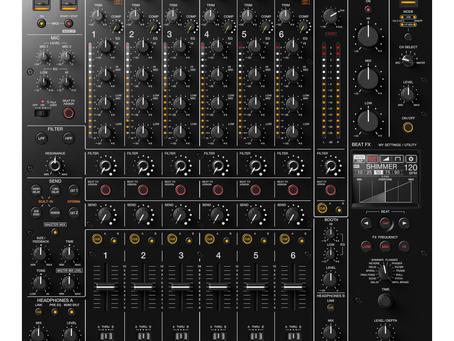Pioneer yeni gözdesi DJM V10'u piyasaya sundu.