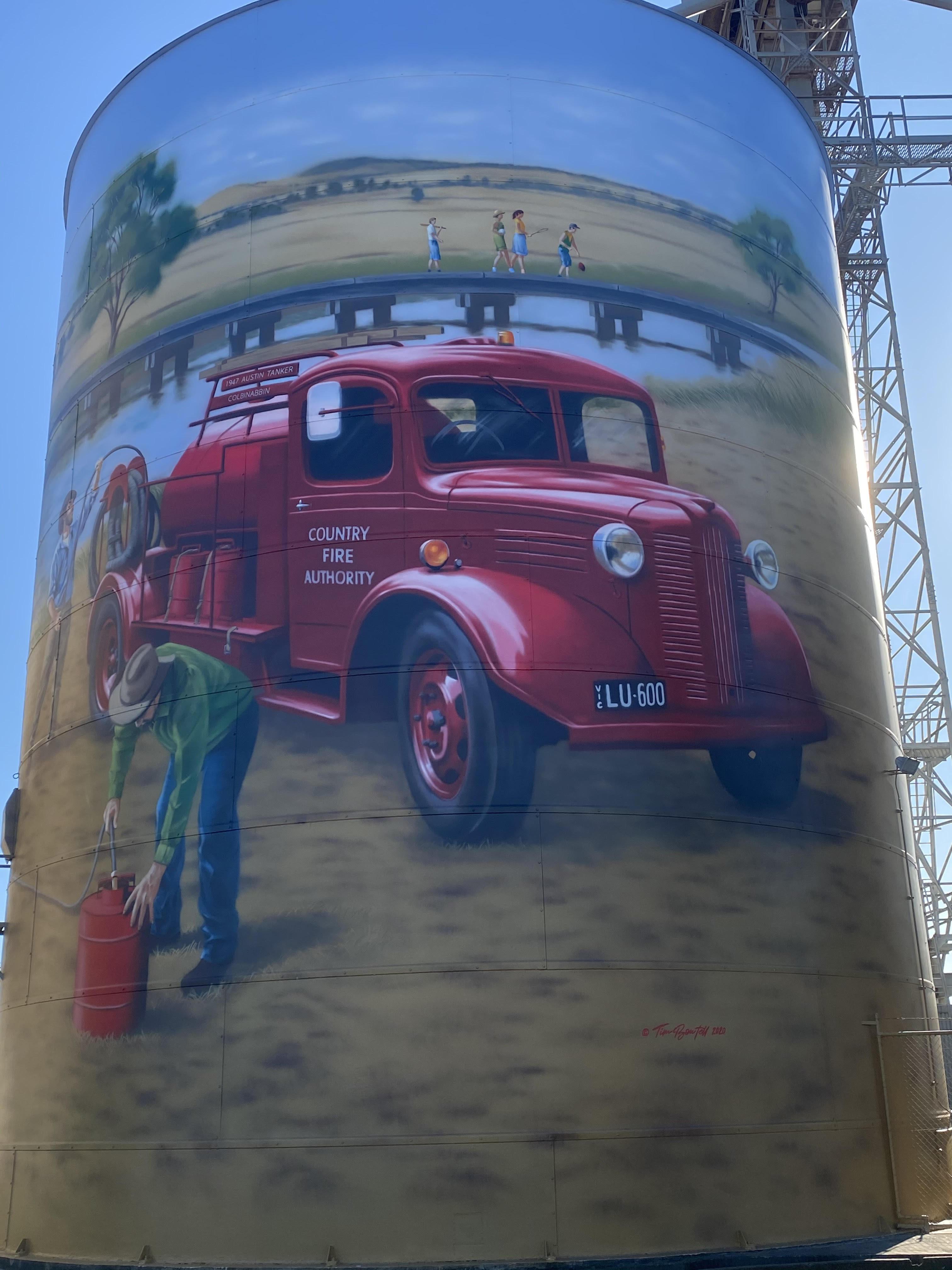 """""""Lulu"""" Fire Truck"""