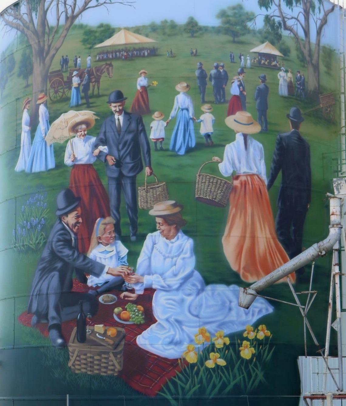 The Colbinabbin Farmers Picnic
