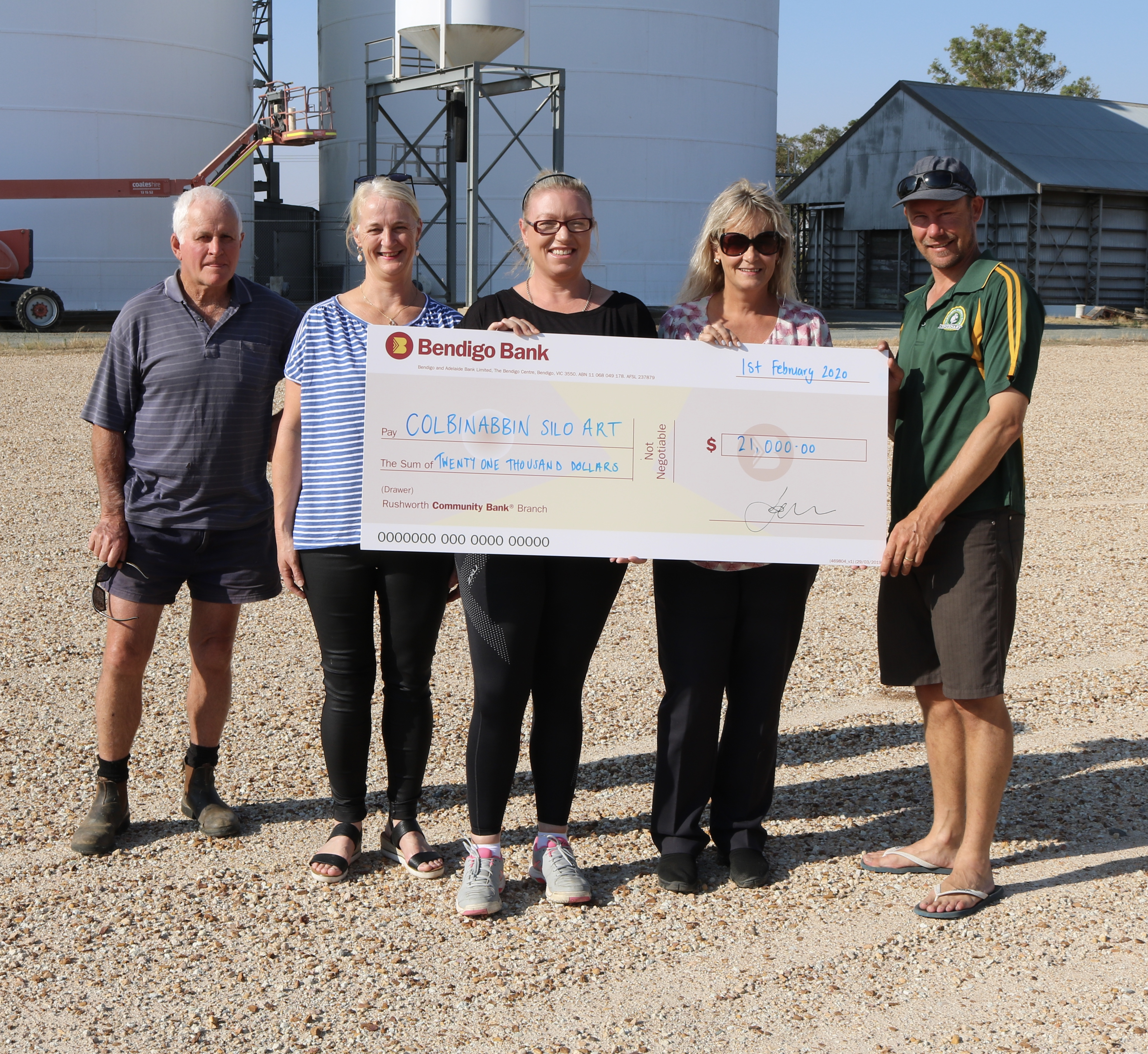 Bendigo Bank Donation