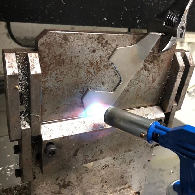 Gr5 Ti plate bending