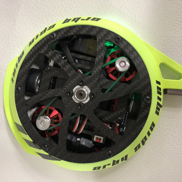 Top view of ORBY Spin mini