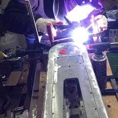 TIG Welding - ORBY Blade