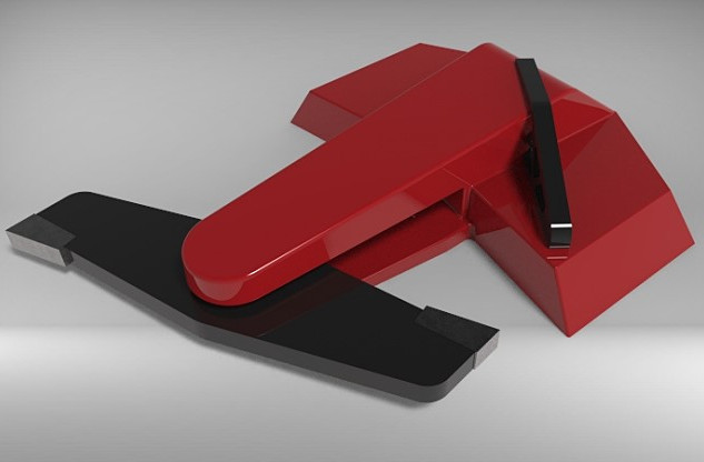 First design concept - ORBY Blade