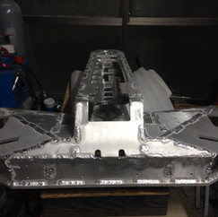 Rear view after welding - ORBY Blade