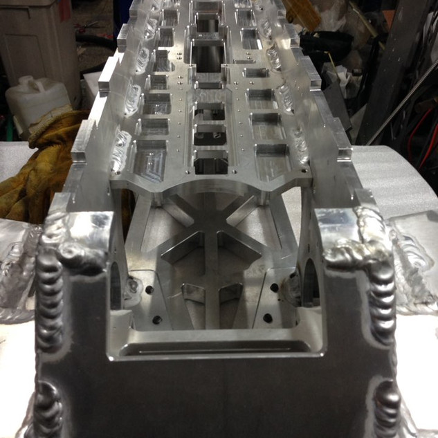 Base frame for Self righing mechanism - ORBY Blade