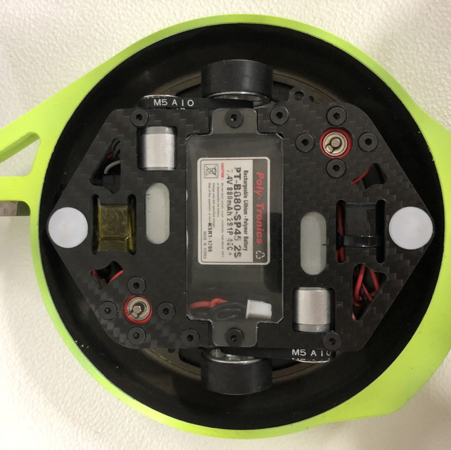Bottom view of ORBY Spin mini