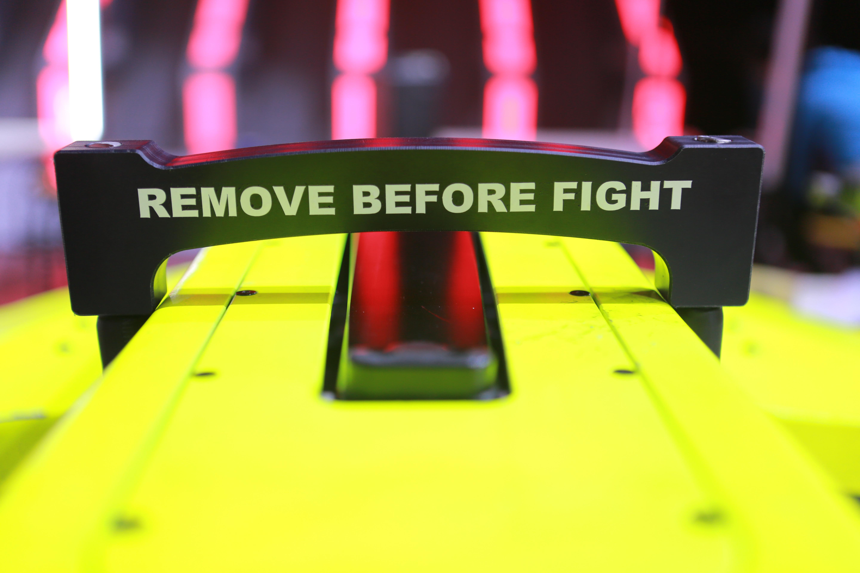 Remove before fight