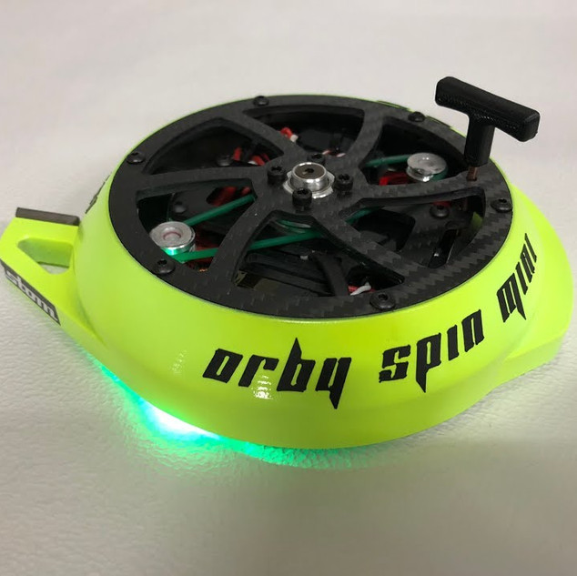 First test of ORBY Spin mini