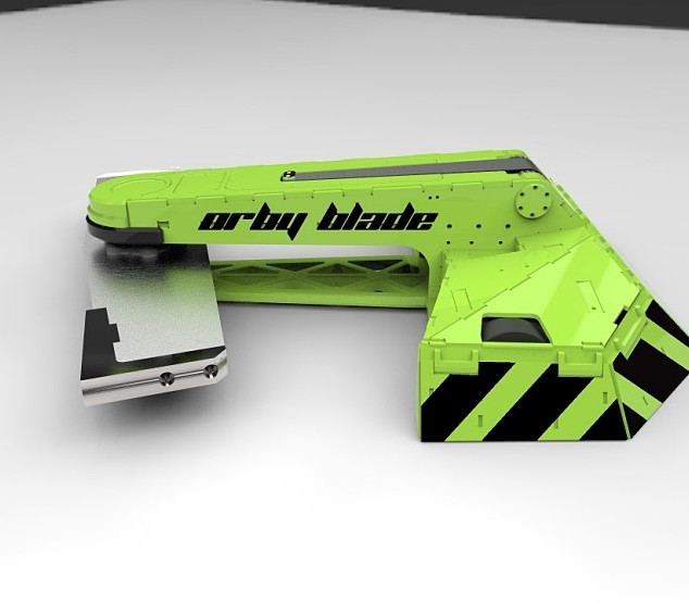 Painting concept - ORBY Blade