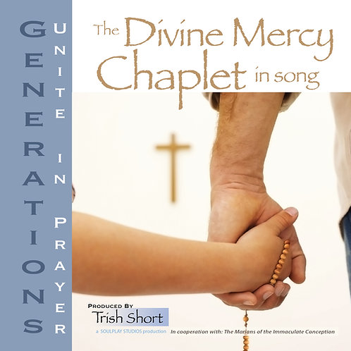 Generations Music CD – 'Divine Mercy Chaplet in Song' for Children & Youth