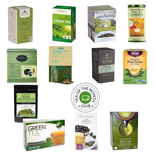 Green Tea of the Month Club - 12 Month