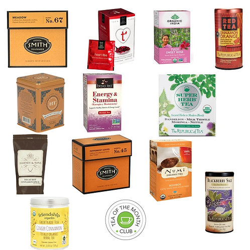 Herbal Tea of the Month Club - 12 Month