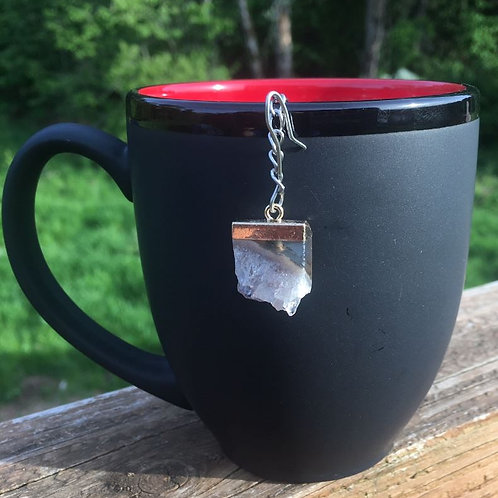 Handmade Amethyst Crystal Tea Infuser